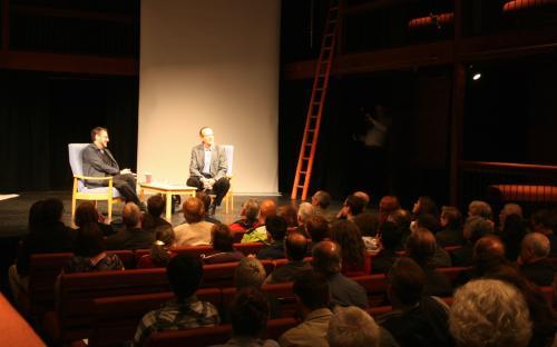 Tony Kushner and Tom Kuhn